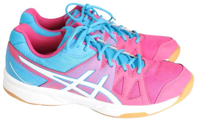 Item - Pink & Blue Volleyball Sneakers Size US 9 Regular (M, B)