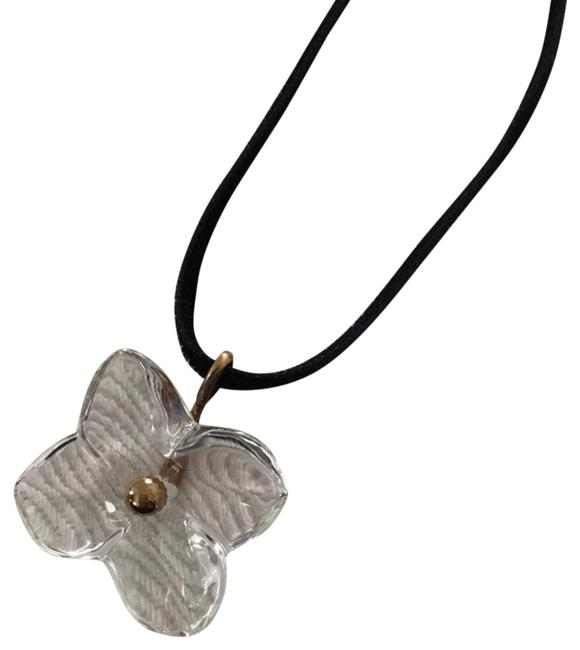Item - Black Gold Crystal Butterfly Necklace