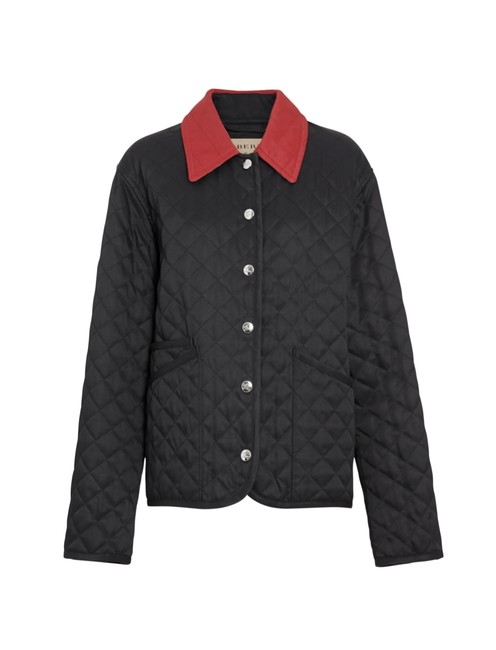 Item - Black Dranefield Diamond Quilted Jacket Size 12 (L)