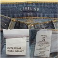 Level 99 Blue Medium Wash New Amber Slouchy Cropped Metallic Silver Galaxy Skinny Jeans Size 24 (0, XS) Level 99 Blue Medium Wash New Amber Slouchy Cropped Metallic Silver Galaxy Skinny Jeans Size 24 (0, XS) Image 9