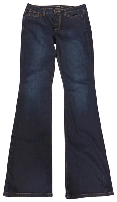 Item - Dark Blue Rinse Icon Boot Cut Jeans Size 6 (S, 28)
