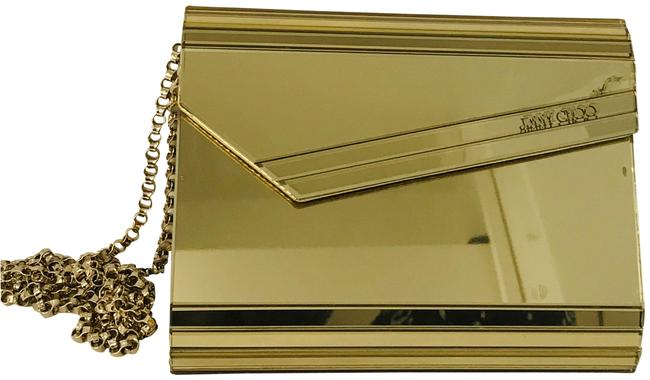 Item - Candy Holographic Gold Polyurethane Clutch