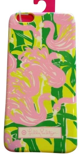 Preload https://item1.tradesy.com/images/lilly-pulitzer-pink-green-fan-dance-pattern-for-target-phone-case-for-iphone-6-6-plus-tech-accessory-2847775-0-0.jpg?width=440&height=440