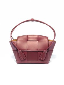 Item - Arco 33 Small Burgundy Leather Tote