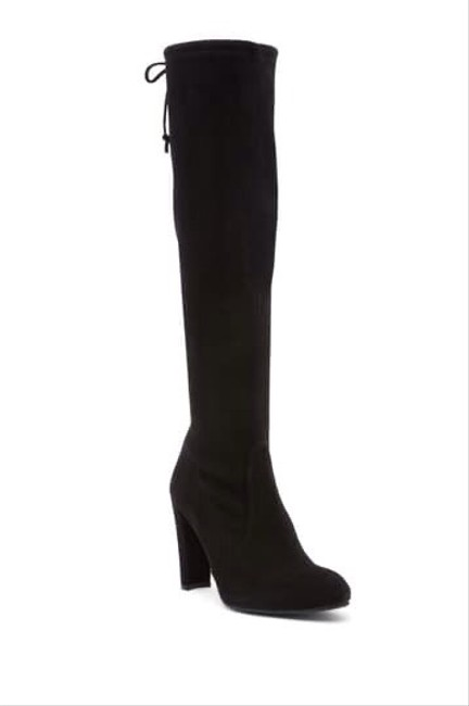 Item - Black Suede Keenland Knee High Stretch Boots/Booties Size US 8 Regular (M, B)