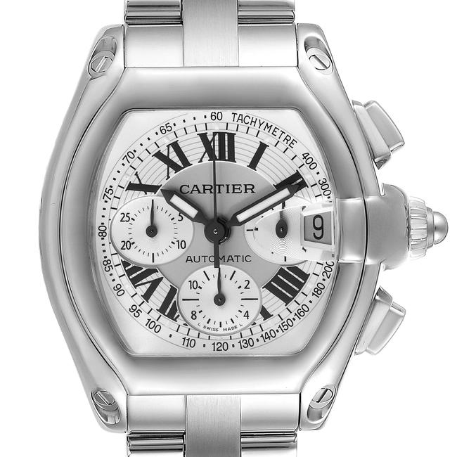 Item - Silver Roadster Dial Chronograph Steel Mens W62006x6 Watch