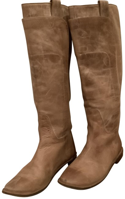 Item - Tan Paige Riding Boots/Booties Size US 8.5 Regular (M, B)