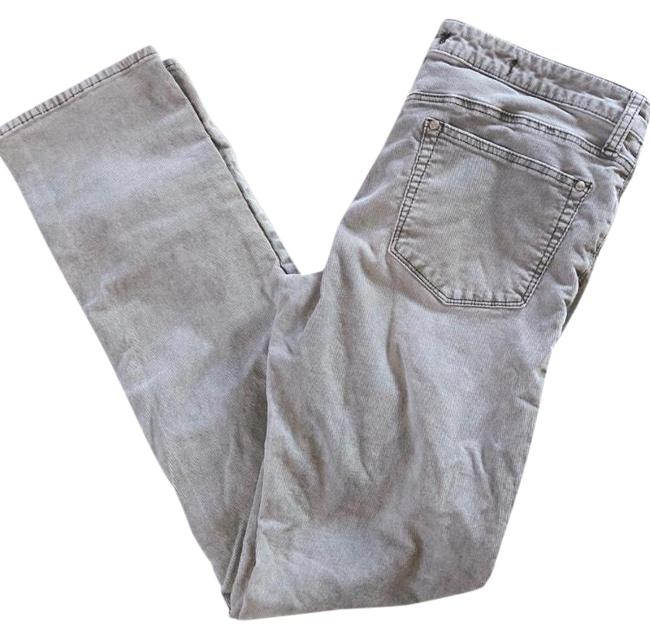 Item - Gray Pilcro and The Letterpress Parallel Corduroy Straight Leg Jeans Size 8 (M, 29, 30)