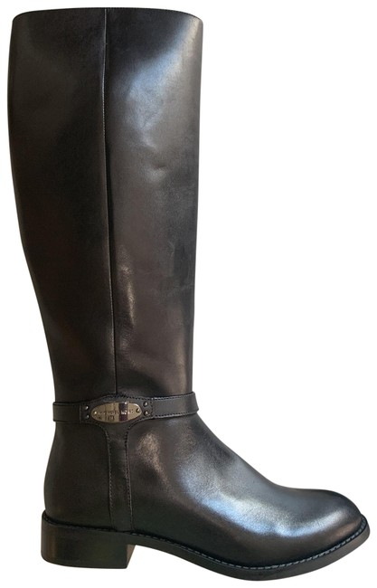 Item - Black Leather Riding Boots/Booties Size US 5.5 Regular (M, B)