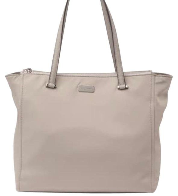 Item - New York Dawn Gray Nylon Tote
