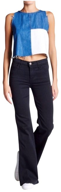 Item - Black Dark Rinse Girl The Crush Flare Leg Jeans Size 25 (2, XS)