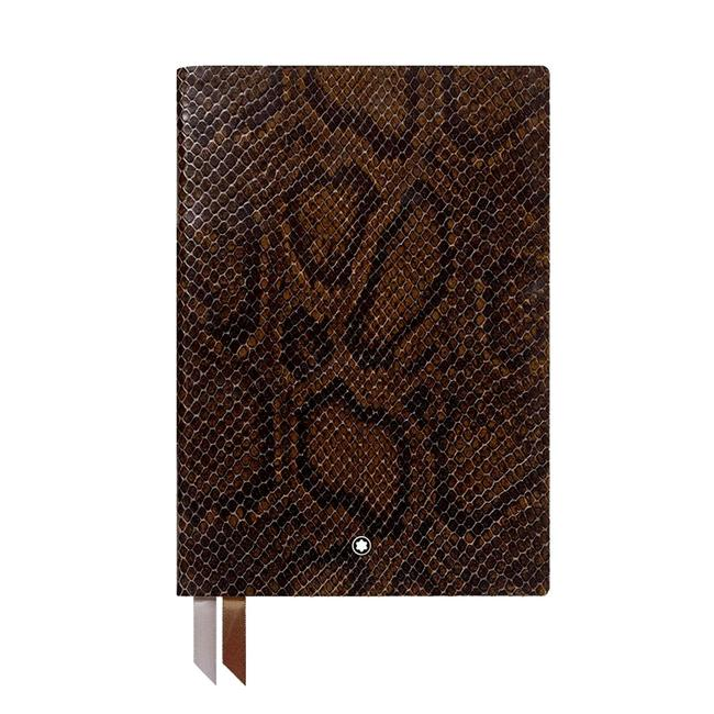 Item - Multi-color Notebook #146 Python Print Premium Paper Lined Gold Cut Note