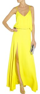 Mason Neon Split Silk Dress