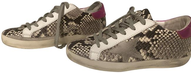 Golden Goose Deluxe Brand Black and White Python Superstar Sneakers Size EU 35 (Approx. US 5) Regular (M, B) Golden Goose Deluxe Brand Black and White Python Superstar Sneakers Size EU 35 (Approx. US 5) Regular (M, B) Image 1