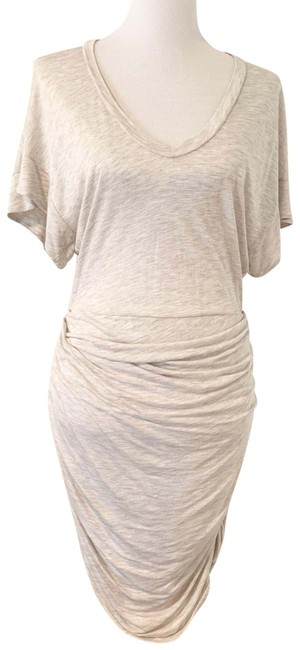 Item - Off White Wm33ginger Mid-length Short Casual Dress Size 8 (M)