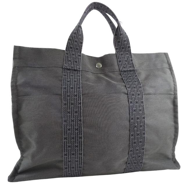 Item - Mm Aleline Unisex Gray Canvas Tote