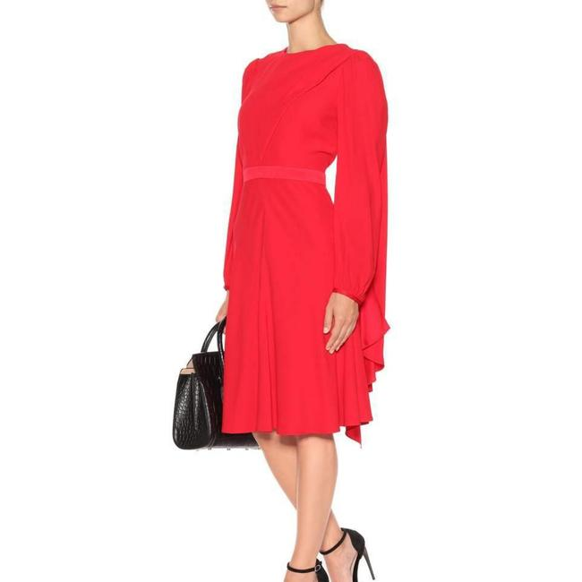 Alexander McQueen Red 4963863966 Mid-length Formal Dress Size 12 (L) Alexander McQueen Red 4963863966 Mid-length Formal Dress Size 12 (L) Image 1