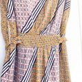 Anthropologie Pink Maeve By Carla Midi Wrap Mid-length Short Casual Dress Size 16 (XL, Plus 0x) Anthropologie Pink Maeve By Carla Midi Wrap Mid-length Short Casual Dress Size 16 (XL, Plus 0x) Image 7