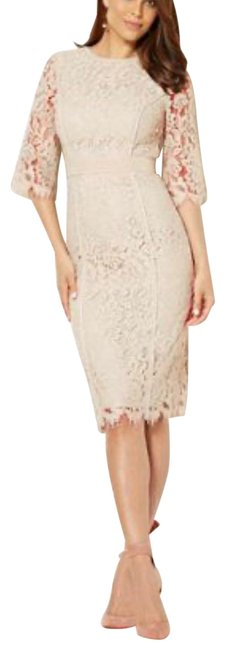 Item - Nude Kjole Lace Party Collection Mid-length Night Out Dress Size 2 (XS)