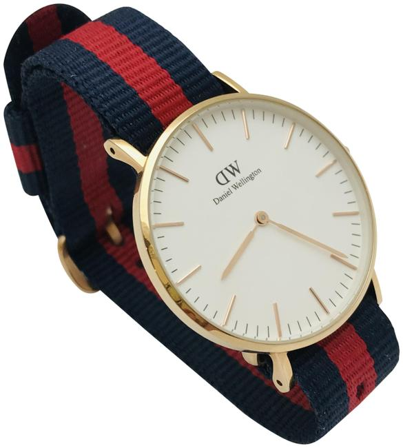 Item - Rose Gold Classic Oxford Nato Strap Men Watch