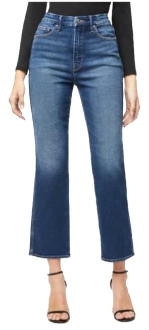 Item - Blue 324 Medium Wash Goodcurve Western Yoke Straight Leg Jeans Size 16 (XL, Plus 0x)