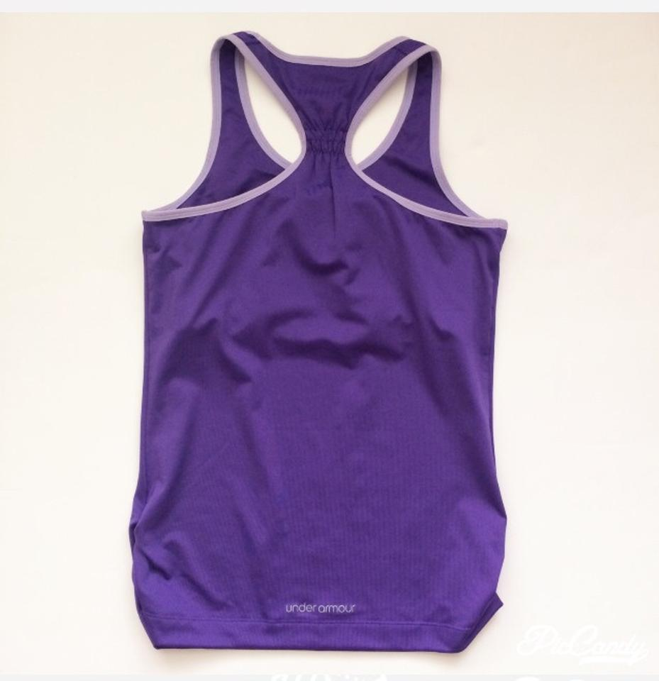 4d4195a8e60d5 Under Armour Racer Back with Built In Bra Activewear Top. Size  8 (M ...