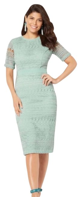 Item - Mint Green Julietta Party Collection Mid-length Night Out Dress Size 2 (XS)