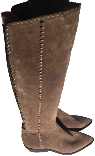 Item - Light Brown Womens Tall Fashion Boots/Booties Size US 7 Regular (M, B)
