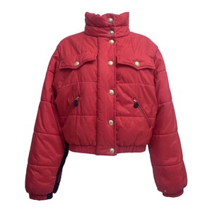 Item - Red Puffer Coat