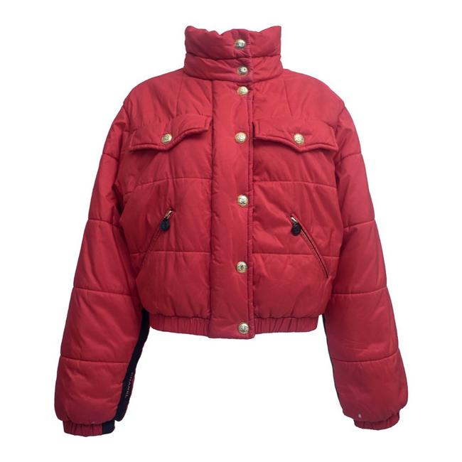 Item - Red Puffer Coat Size 6 (S)
