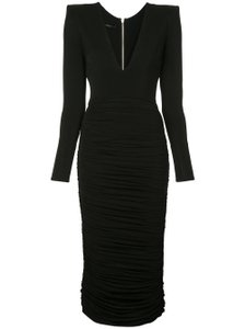 Item - Black Plunging  Night Out Dress