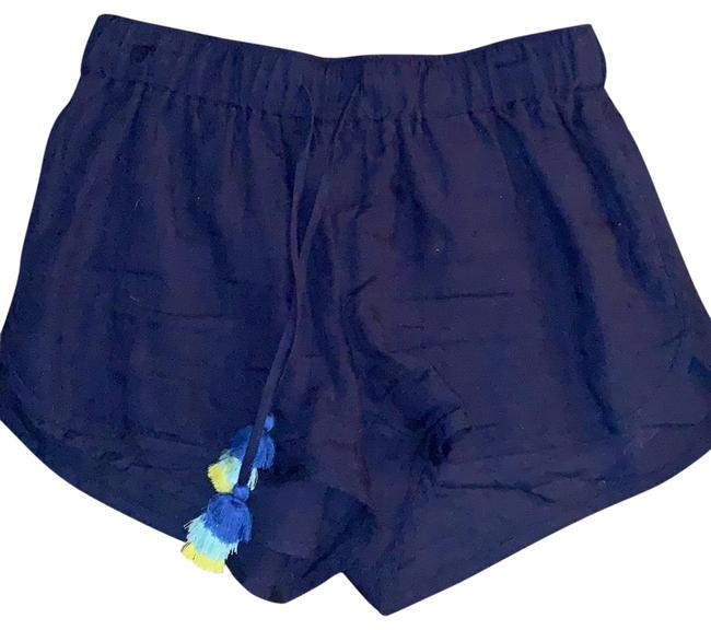 Item - Navy Blue Linen Shorts Size 0 (XS, 25)
