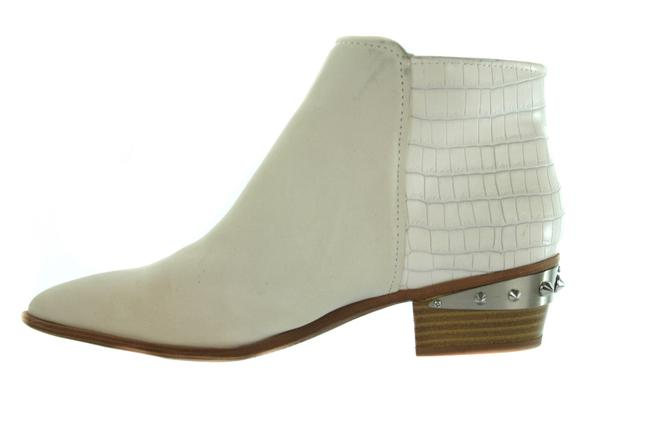 Item - White Circus Leather Faux Croc Print Boots/Booties Size US 9 Regular (M, B)