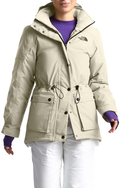 The North Face White Reign On 550 Fill Power Down Hooded Parka Coat Size 12 (L) The North Face White Reign On 550 Fill Power Down Hooded Parka Coat Size 12 (L) Image 1