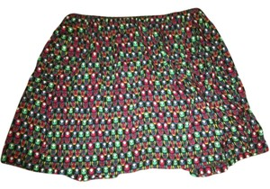 Cooperative Skirt Black, red, blue, and green