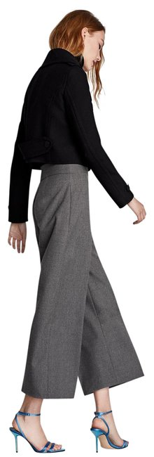 Item - Grey High Waist Culottes Pants Size 8 (M, 29, 30)