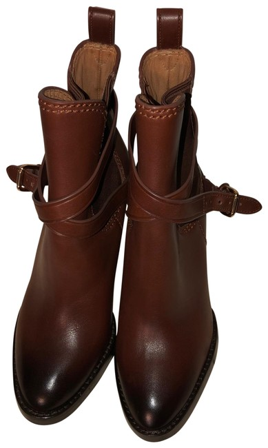 Coach Brown Ankle Boots/Booties Size US 6 Regular (M, B) Coach Brown Ankle Boots/Booties Size US 6 Regular (M, B) Image 1