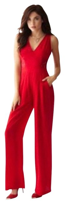 Item - Red Sexy Lace Romper/Jumpsuit