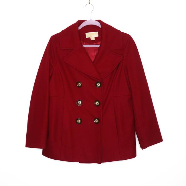 Item - Red Double Breasted M Coat Size 8 (M)