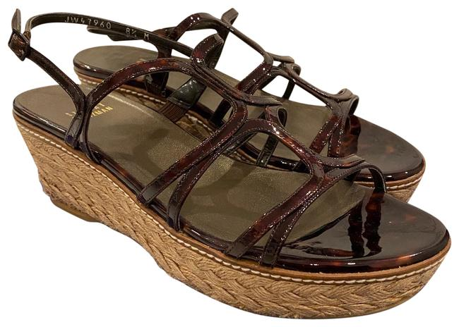 Item - Brown Light Brown Foursome Wedges Size US 8.5 Regular (M, B)