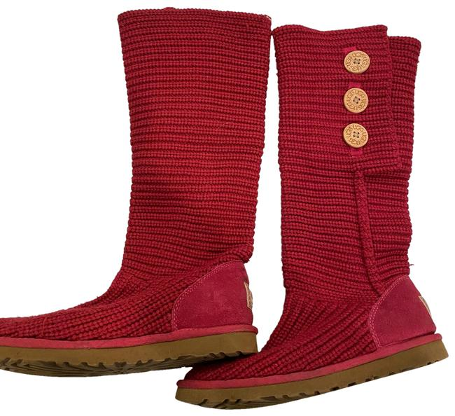 Item - Pink Cardy Boots/Booties Size US 8 Regular (M, B)