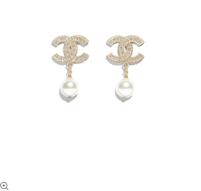 Item - Gold and White Ref. A86506 Y09902 Z2953 Earrings