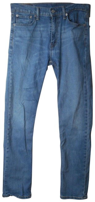 Item - Blue Medium Wash Pre-owned Denim 513 X 32 Straight Leg Jeans Size 31 (6, M)