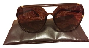 Michael Kors Michael Kors Sunglasses Brown With Gold Trimmings 100% Authentic