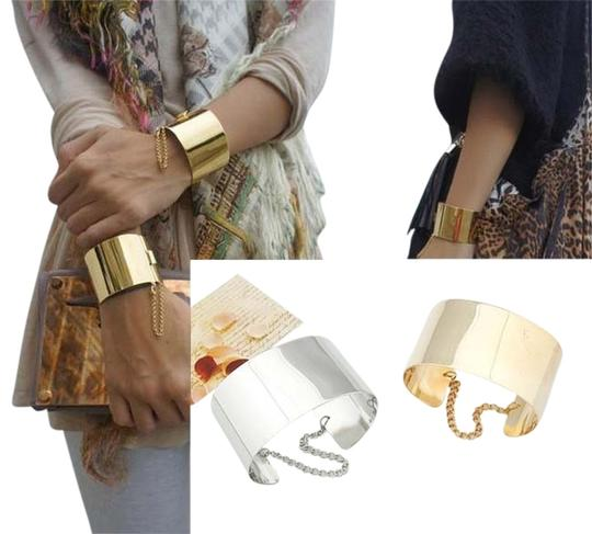 Other Gold-plated Jewelry Mirror Punk Rock Bangle Cuff