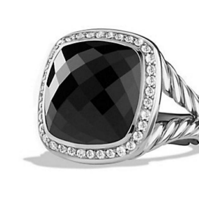 Item - Black Stone Silver Setting Albion Collection Onyx Ring