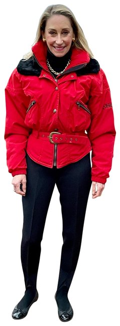 Item - Red ( Top Luxury Brand ) Ski Wear Collection Activewear Size 4 (S)