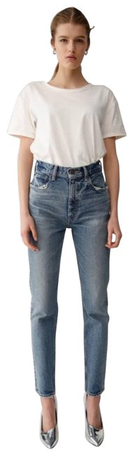 Item - Blue Light Wash Vintage Mvs Skinny Jeans Size 24 (0, XS)