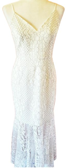 Item - White Handkerchief Long Night Out Dress Size 6 (S)