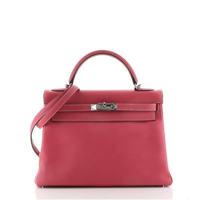 Item - Kelly Candy Handbag Epsom 32 Rose Tyrien (Pink) Leather Tote